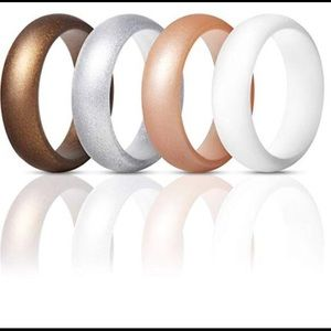 Silicone rings 4 pack